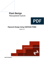 Pipework Design Using VANTAGE PDMS