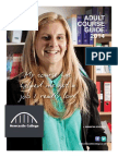 Adult Course Guide 2014