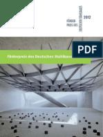 Stahlbau Förderpreis 2012