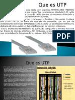 Cable Utp Medidas Funcionales