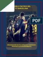 Modelo Tactico Del Fc Barcelona PDF