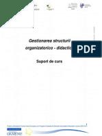 Curs 02 - Organizare Academico- Didactica