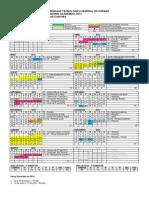CT - Calendario Academico 2014