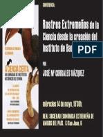 Conferencia J. Mª Corrales