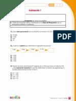 Evaluacion 1 Sendas Matematica