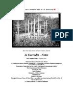 Li Exovedes - Notes