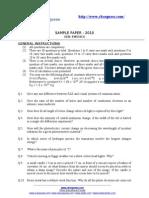 Sample Paper (N.C.E.R.T.)
