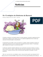 Os 12 Estágios Da Síndrome de Burnout _ Notícias JusBrasil