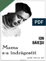 Ion Baiesu - Mama S-A Indragostit (Ctrl)