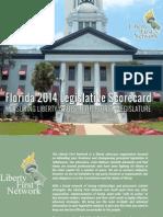 2014 LFN Florida Legislative Scorecard