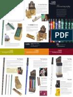 Clarke Tinwhistle Product Brochure 2013
