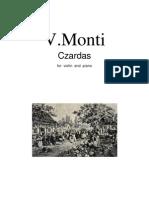 Szardas-V.para Violin y Piano - For Violin and Piano
