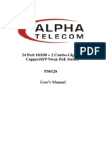 24port +2G combo PoE fast Ethernet Switch- web manual