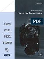 Manual Canon FS200