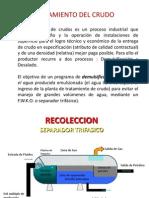 2.Tratamiento Del Crudo y Del Agua en El Proceso de Producción