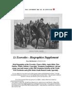 Li Exovedes - Biographies Supplement