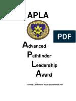 Advanced+Pathfinder+Leadership+Award