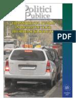 Politici Publice Taxi