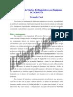 Generalidades de Los Medios de Diagnostico Por Imagenes Ecografia
