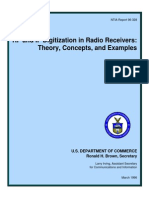 RF and if Digitization in Radio Receiver
