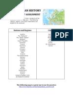 ap euro summer map
