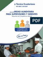 Seguridad Alimentaria Supervisores y Gerentes