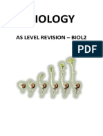 Biology UNIT 2 Revision Guide