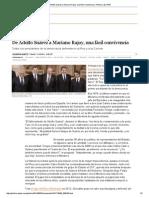 02De Adolfo Suárez a Mariano Rajoy, Una Fácil Convivencia _ Política _ EL PAÍS