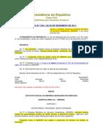 Decreto n 7661_ebserh