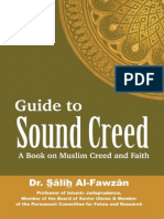 Guide to Sound Creed a Book on Muslim Creed and Faith - Shaikh Dr. Salih bin Fawzan Al Fawzan