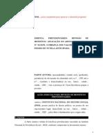 4.1- Pet. Inicial - Revisão - Cobrança - Valores Decorrentes de Acordo - ACP