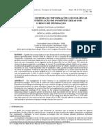 UTILIZAÇÃO DO SISTEMA DE INFORMAÇÕES GEOGRÁFICAS (SIG) NA IDENTIFICAÇÃO DE POSSÍVEIS ÁREAS SOB O RISCO DE INUNDAÇÃO