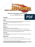 Warhammer House Rules v2