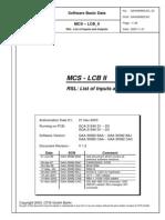 Otis Mcs Lcb Oi Parameters