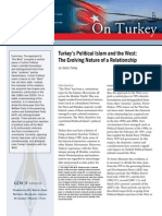 Turkey's Political Islam and the West