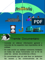 auditoria  tramite  documentario