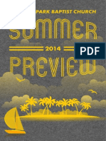 Summer 2014 Preview