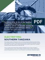 Symbion Power - Mtwara Power Project