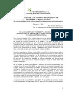 El Analisis Financiero Agropecuario