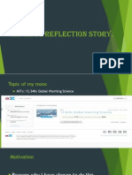 my mooc reflection story