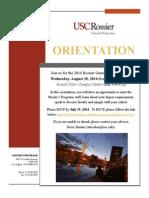 General Orientation Invitation 2014 Revised