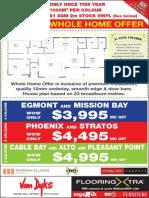 Van Dyks Flooring Promotion for Waikato/Bay Of Plenty