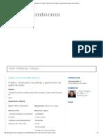 Biologíapuntocom_ Práctico_ observación de anteras y germinación de grano de polen