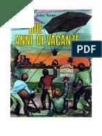 Jules Verne - Due Anni Di Vacanze