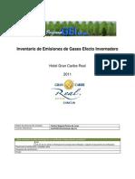 Hotel Gran Caribe Real_2011_ok_emisiones GEI