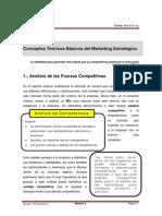 Lectura Sesión 4 Conceptos Teóricos Básicos Del Marketing Estratégico.pdf - 5 Fuerzas