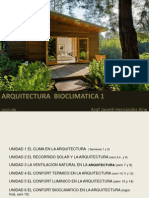 arquitectura BIOCLIMATICA 1