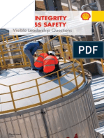 Asset Integrity Process Safety Visible Leadership Questions