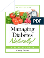 Managing Diabetes Naturally 1.0