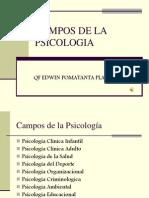 Clase 1 Campos de La Psicologia